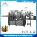Automatic small bottle hot filling and capping machine