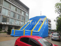 cheap commercial giant inflatable slide/inflatable jumping slide for sale