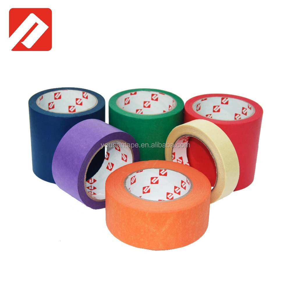 High Quality Vinyl Waterproof Adhesive Tape Colored Masking Tape On Sale