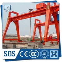 Double Beam Gantry Crane Price with power cable