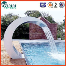 Factory made outdoor spa swimming pool message jet swim