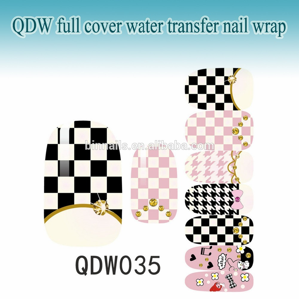Full Cover Manicure Decals Applique Harajuku Nails Sticker