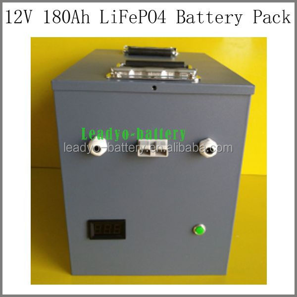 Great lifepo4 battery 180ah 3.2v cell lifepo4 200A lifepo4 battery pack for solar power electric vehicle battery
