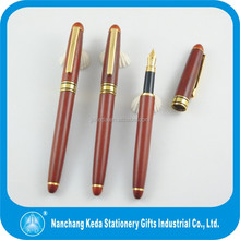 new gift set of engraving wooden fountain pen