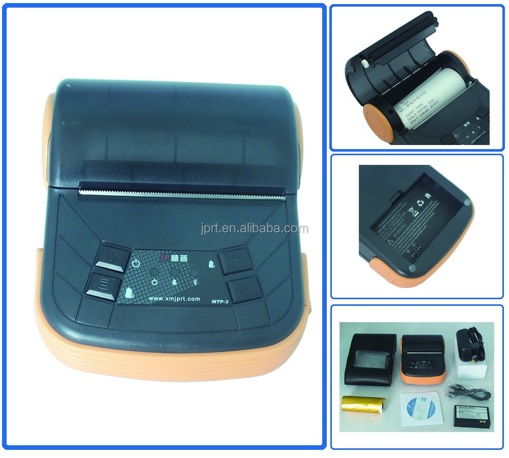 80mm mini bluetooth thermal receipt printer fiscal printer for andriod