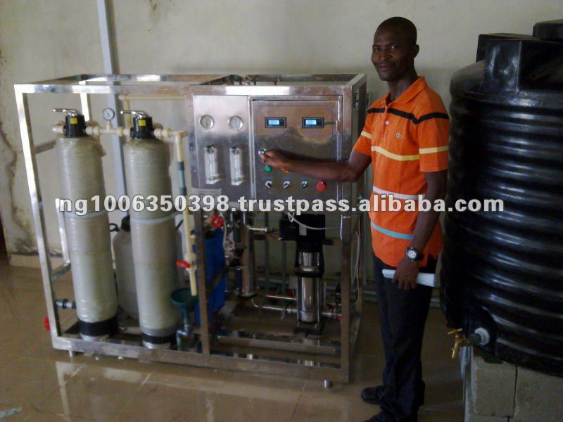 Water Treatment for Dialyzer in Hospital