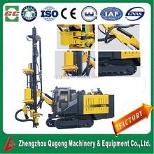 KT11S Mobile Integrated with compressor Crawler mounted rock drilling rig