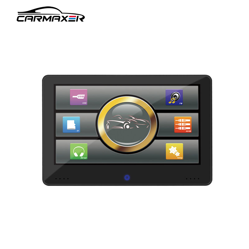 2019 carmaxer Headrest Portable auto dvd player 1080p android car Back seat 3G monitor