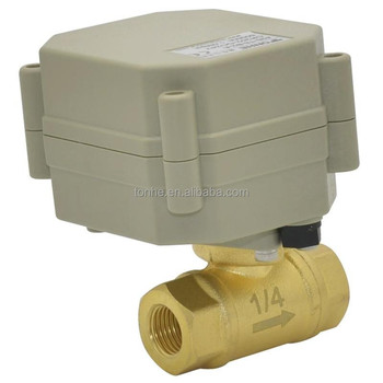"1/4"" Miniature electric automatic water valve (T8-B2-C)"
