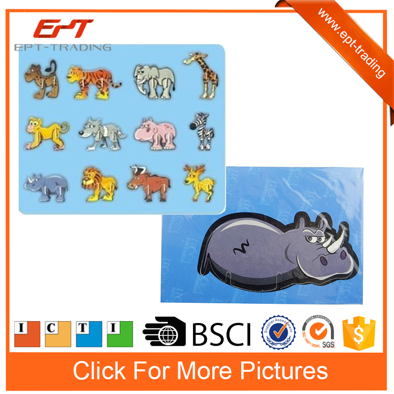 Intelligent diy puzzle animal model toy for kids