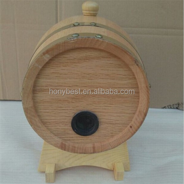 Empty Wooden Wine Barrel for 1.5L,3L,5L,10L,20L,225L-1.jpg