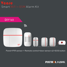 2015 New products! smart home automation Wifi home Alarm System, Burglar Alarm With Live Video, Pepper Spray