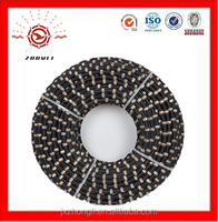 High Efficiency diamond tool and diamond wire saw for stone cuttting with line speed 20-30/s