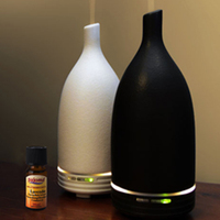 Top quality ultrasonic ceramic air freshener, electric aromatherapy diffuser