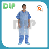 Polyethylene isolation disposable sterile surgical gown