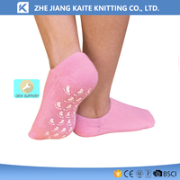 KTP-1771 gel socks lifts-up height increase sock insoles