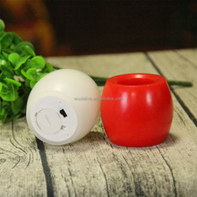 egg shape cheap flameless wax led votive candles with timer