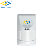 Auto Temperature Compensation PIR Alarm Wireless PIR Motion Sensor