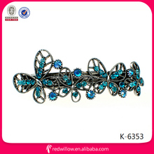 Top Hot Sale Sweet spring New Style metal Hair Clip With Decorative