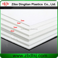 white free foam pvc sheet