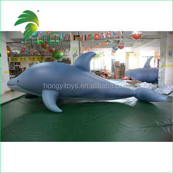 Large Shark Flying Fish Toy / Giant Whale Model Balloon / Inflatable Fish Inflatable Whale for Advertising Display
