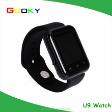2016 hot wholesale smart phone watch U9 bluetooth smart watch for lady