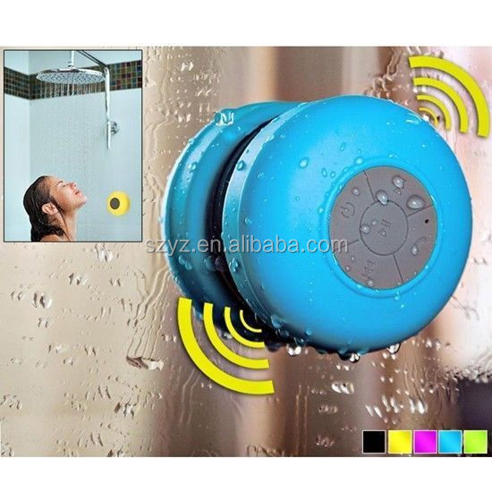 2015 hot new product bluetooth shower speaker made in China/alibaba i new gadgets 2015