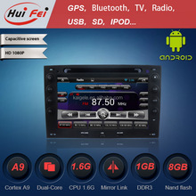 vehicle mounted radio navigation system For Renault Megane support IPHONE IPOD MP3 car DVD car radio OBD2