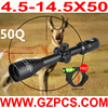 GZ10250 4.5-14.5X50 airsoft utg tactical canis latrans spotting sniper hunting optical rifle scope optic