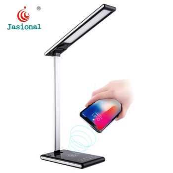 New Touch Dimmable LED Eye Protection Folding Wireless Folding Table  Desk Reading Lamp