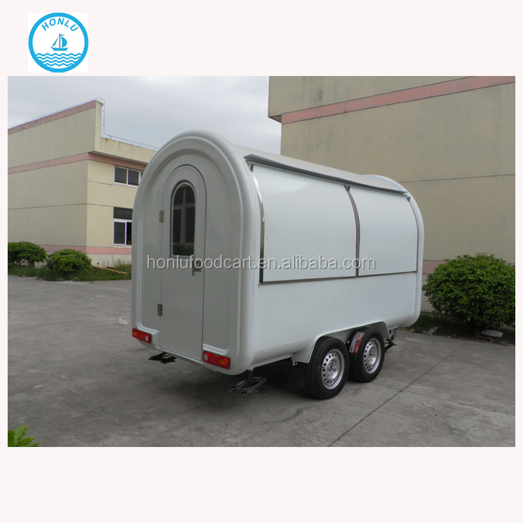 Hot Sale Factory Supply mobile food trailer used bbq trailers for sale