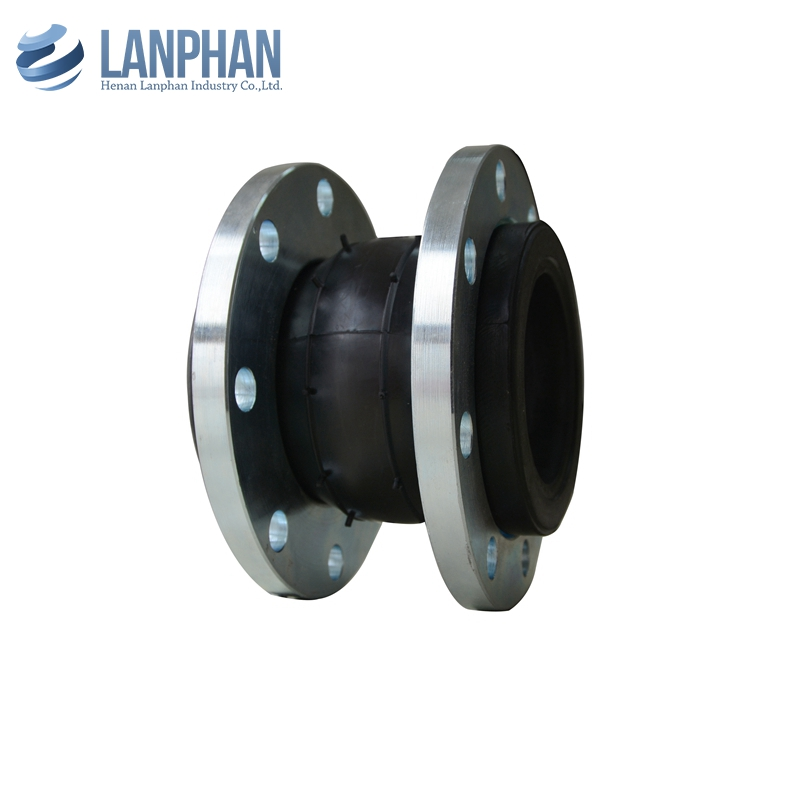 hot sale single sphere flexible rubber expansion joint flange pipe fitting