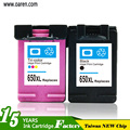 Manufactured ink cartridge factory supply for HP 650XL black Ink Cartridge