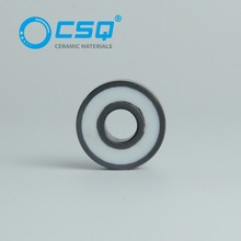 Low resistance high precision ABEC1-7 miniature 8x22x7 hybrid ceramic bearing 608 with Si3N4/SiC/ZrO2/hybrid ceramic ball