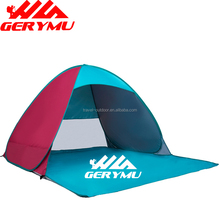 Outdoor Sports Camping Tents Family Team Travel Cabana Portable Patchwork Color Beach Tents