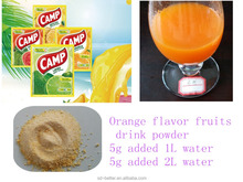 Orange flavor juice drink powder