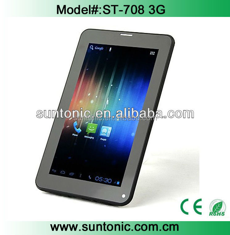 7 inch 3G tablet pc A33 with cheap factory price