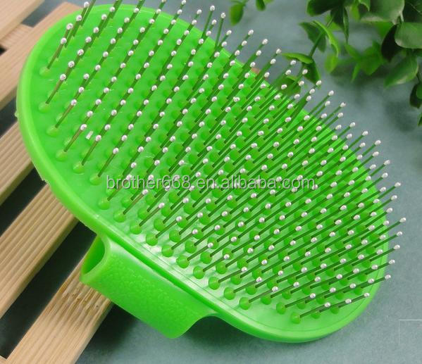 hot Silicone Pet Bath Massage Brush pet bathing brush, massage, clean brush