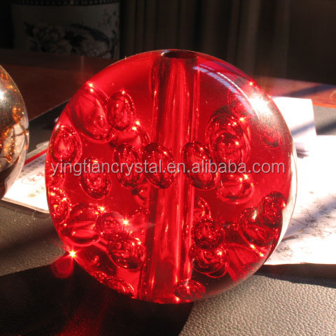 Top quality Crystal Bubble Ball with drilled hole