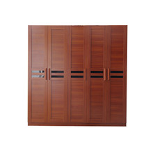Bedroom Furniture 5 Doors MDF Wood Wardrobe Door Designs