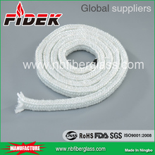 low price Glass Fiber braided Square Rope with high quality
