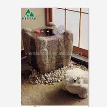 Granite stone bird bath for outdoor garden RST-BS09