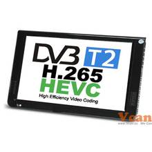 10 DVB-T2 MPEG4 H265 HEVC H264 Portable TV PVR Multimedia Player Digital Analog kitchen bedroom car automobile fta stb