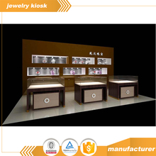 Customized Luxury Interior Design Jewelry Show Display Cases/Stand/Cabinet for Kiosk