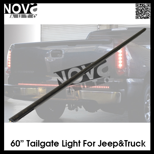 Automobiles & Motorcycles JEEP 60 inch LED tailgate light bar with multiple function