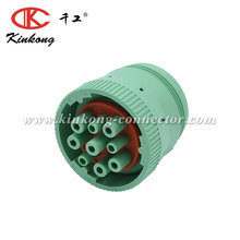 9 pin male green deutsch waterproof automotive wire electric connector HD16-9-1939S-P080