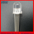 Full color rgb 10mm diffused led common cathode/anode