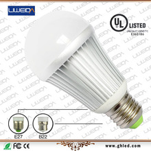 E27 5W UL bulb 360 degree compare light bulb cfl