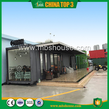Modern commercial glass containers for sale / Shiping containers living home/Prefab Container coffee shop for sale