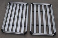 ningbo universal aluminum auto car roof rack 4x4 luggage rack aluminum car roof rack frame, Universal Roof Tray supplier